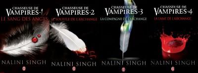 nalini singh,elena,raphael,chasseuse de vampires,archange,vampire