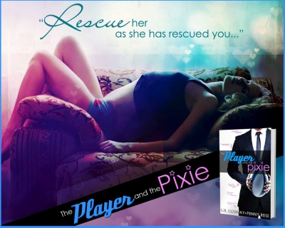 penny reid, l.h. cosway,the player and the pixie